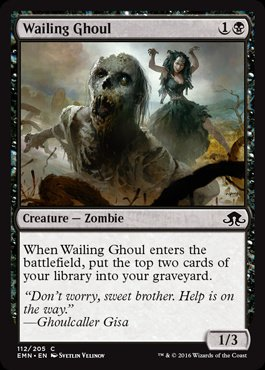 Magic: Eldritch Moon 112: Wailing Ghoul [FOIL]