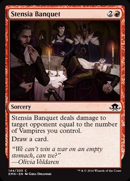 Magic: Eldritch Moon 144: Stensia Banquet [FOIL]