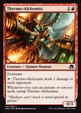Magic: Eldritch Moon 147: Thermo-Alchemist [FOIL]