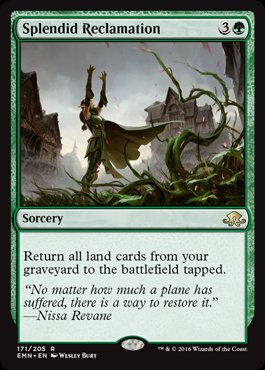 Magic: Eldritch Moon 171: Splendid Reclamation [FOIL]