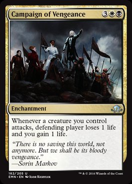Magic: Eldritch Moon 182: Campaign of Vengeance [FOIL]