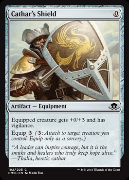Magic: Eldritch Moon 192: Cathars Shield [FOIL]