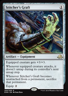 Magic: Eldritch Moon 200: Stitchers Graft [FOIL]