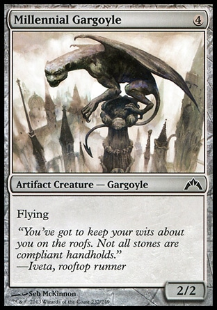 Magic: Gatecrash 232: Millennial Gargoyle