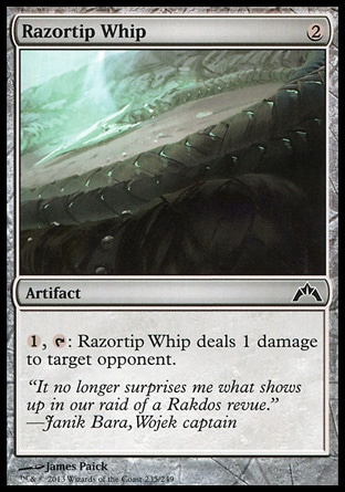 Magic: Gatecrash 235: Razortip Whip