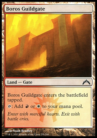 Magic: Gatecrash 239: Boros Guildgate