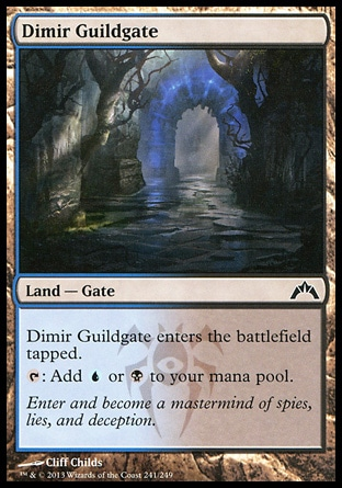 Magic: Gatecrash 241: Dimir Guildgate