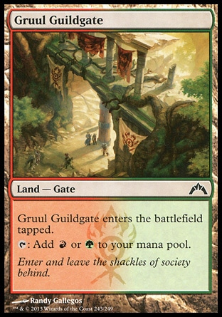 Magic: Gatecrash 243: Gruul Guildgate