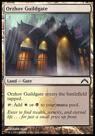 Magic: Gatecrash 244: Orzhov Guildgate