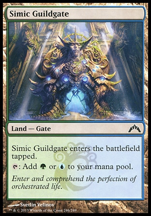 Magic: Gatecrash 246: Simic Guildgate