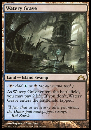 Magic: Gatecrash 249: Watery Grave