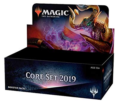 Magic The Gathering: 2019 Core Set: Japanese Booster Packs