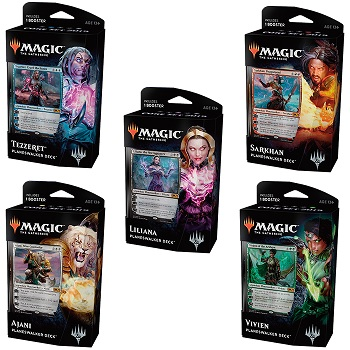 Magic The Gathering: 2019 Core Set: Planeswalker Deck - Vivien