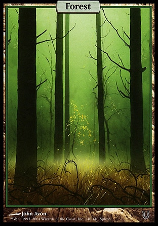 Magic: : Unhinged 140: Forest