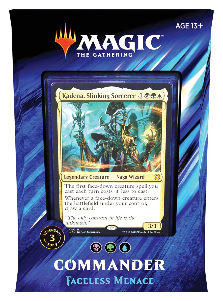 Wizards Of The Coast - Magic the Gathering Commander 2019