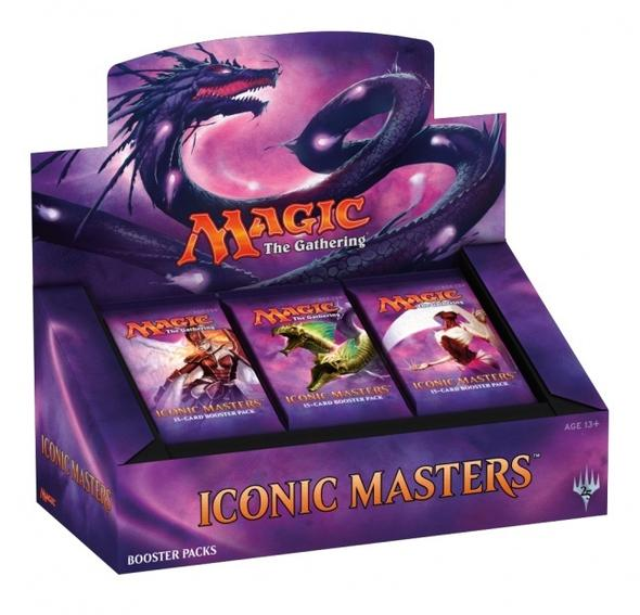 Magic the Gathering - Iconic Masters Booster