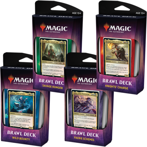 Magic the Gathering: Throne of Eldraine - Brawl Deck [Knights Charge - Red White Black]