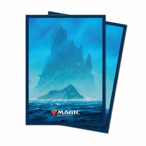 Magic the Gathering Unstable: Card Sleeves 100ct - Island