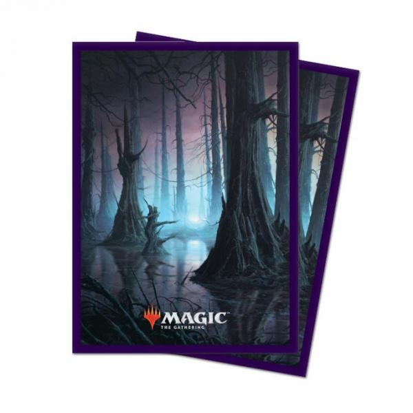 Magic the Gathering Unstable: Card Sleeves 100ct - Swamp