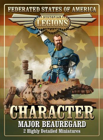 Dystopian Legions: Federated States of America: Major Beauregard [SALE]