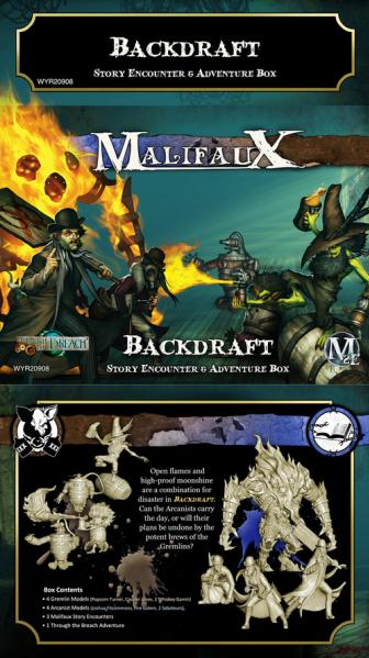 Malifaux 2E: Backdraft Story Encounter & Adventure Box