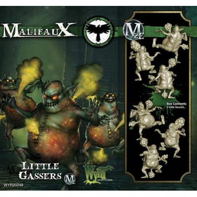 Malifaux 2E: Resurrectionists: Little Gasser