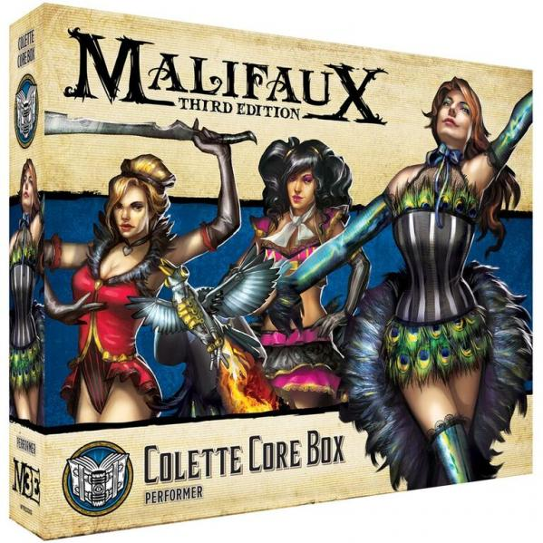 Malifaux 3e-Arcanists: Colette Core Box