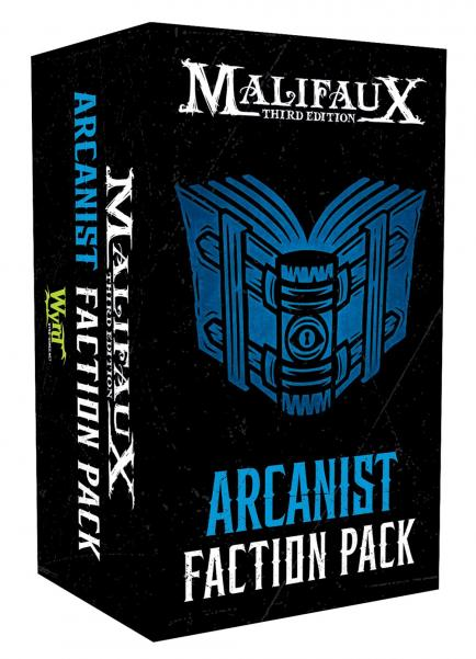 Malifaux 3e-Arcanists: Faction Pack