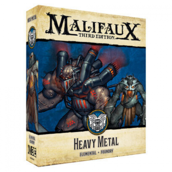 Malifaux 3e-Arcanists: Heavy Metal