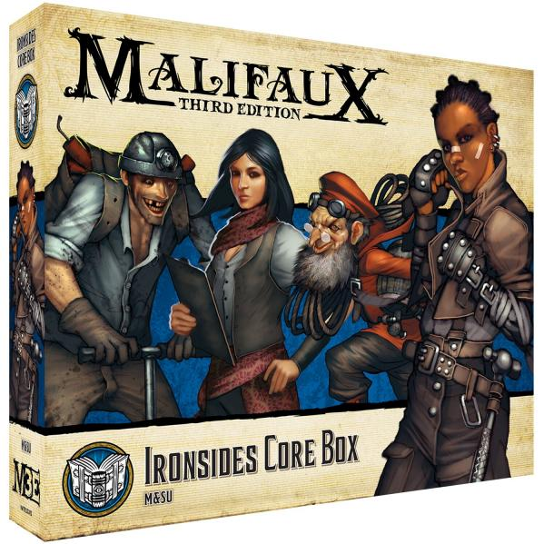 Malifaux 3e-Arcanists: Ironsides Core Box