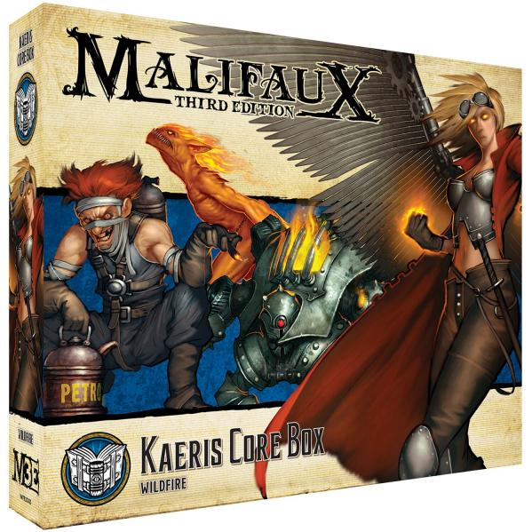 Malifaux 3e-Arcanists: Kaeris Core Box
