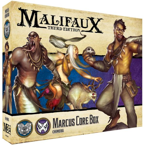Malifaux 3e-Arcanists: Marcus Core Box