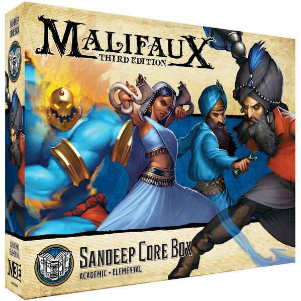 Malifaux 3e-Arcanists: Sandeep Core Box