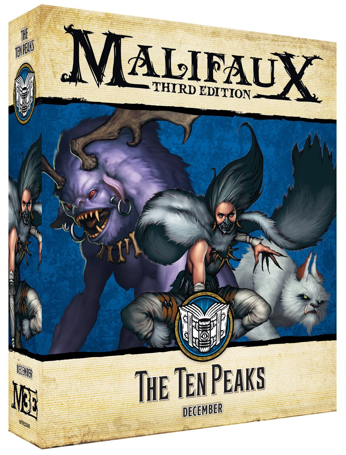 Malifaux 3e-Arcanists: The Ten Peaks