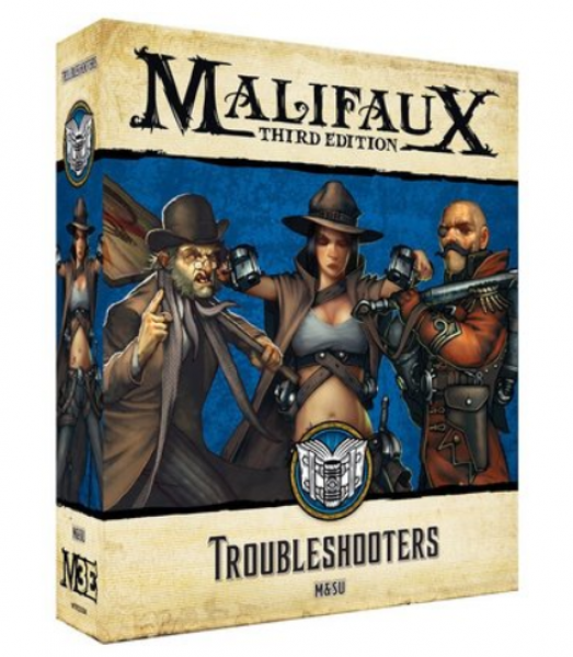 Malifaux 3e-Arcanists: Troubleshooters