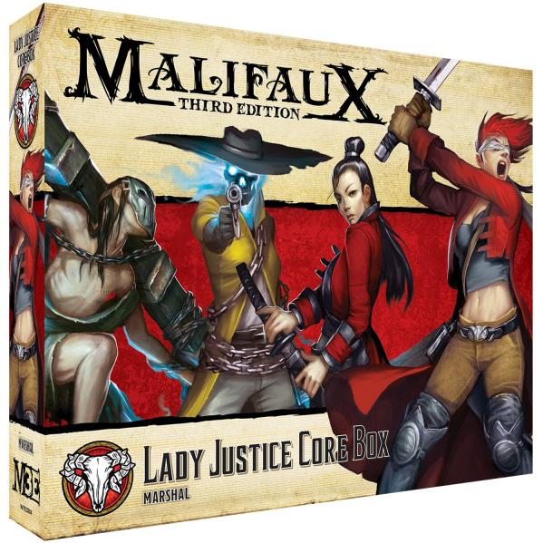 Malifaux 3e-Guild: Lady Justice Core Box