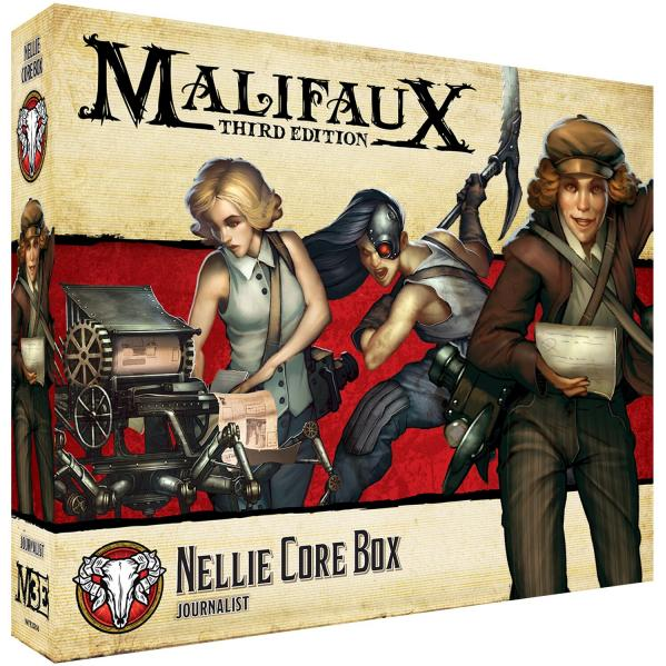 Malifaux 3e-Guild: Nellie Core Box