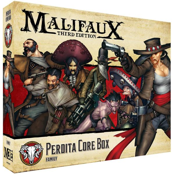 Malifaux 3e-Guild: Perdita Core Box