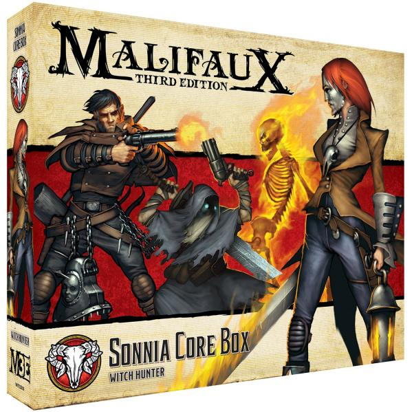 Malifaux 3e-Guild: Sonnia Core Box