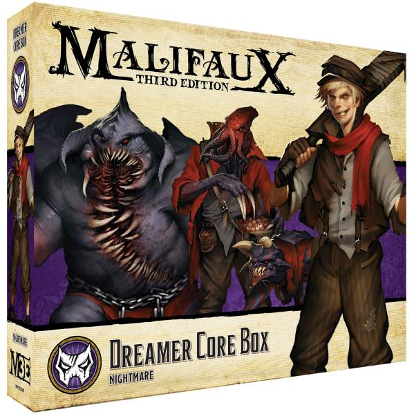 Malifaux 3e-Neverborn: Dreamer Core Box