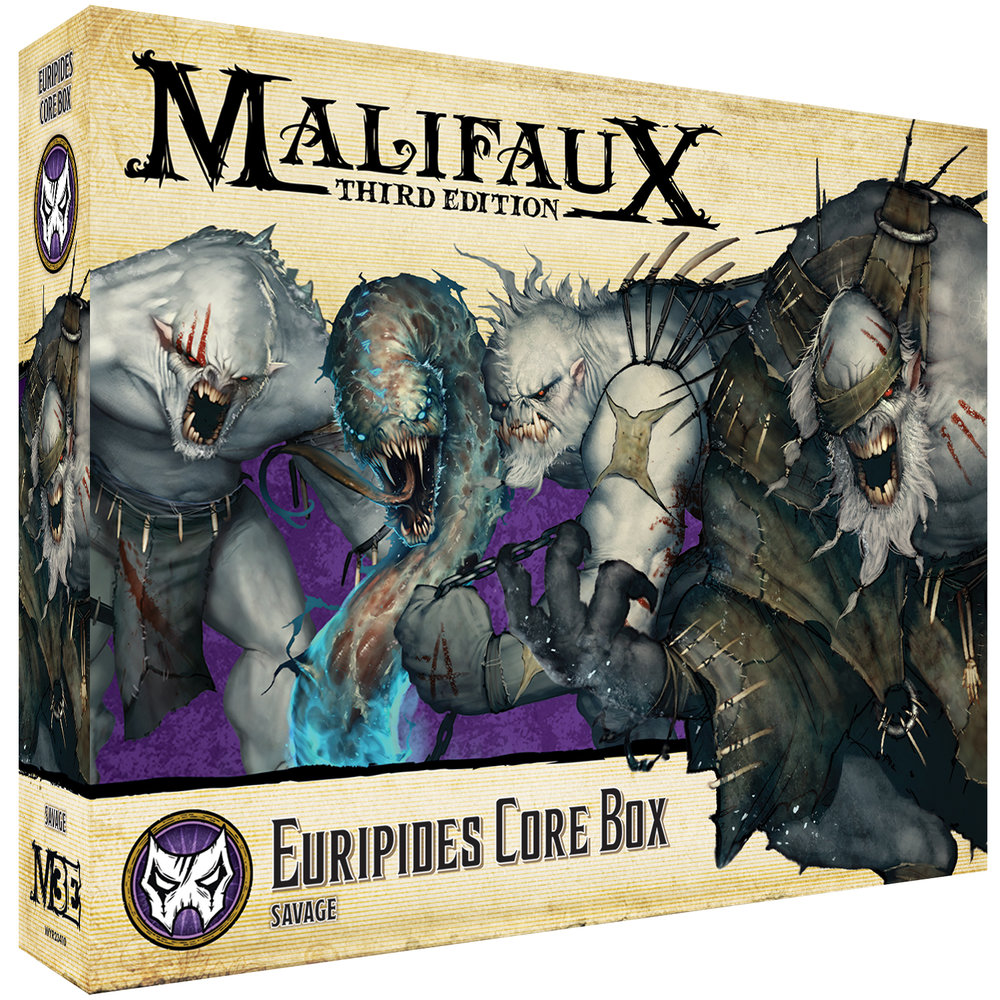 Malifaux 3e-Neverborn: Euripides Core Box