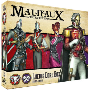 Malifaux 3e-Neverborn: Lucius Core Box