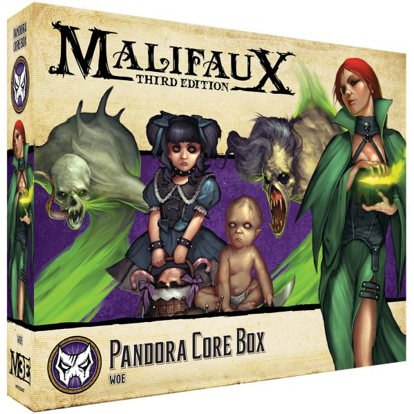 Malifaux 3e-Neverborn: Pandora Core Box