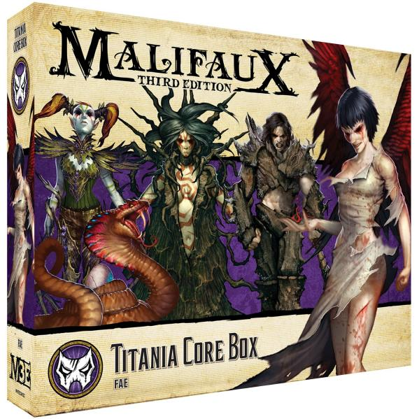 Malifaux 3e-Neverborn: Titania Core Box
