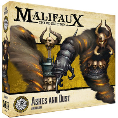 Malifaux 3e-Outcasts: Ashes and Dust