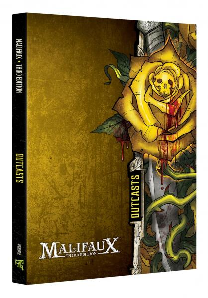 Malifaux 3e-Outcasts: Faction Book