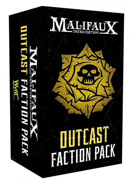 Malifaux 3e-Outcasts: Faction Pack