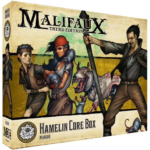 Malifaux 3e-Outcasts: Hamelin Core Box