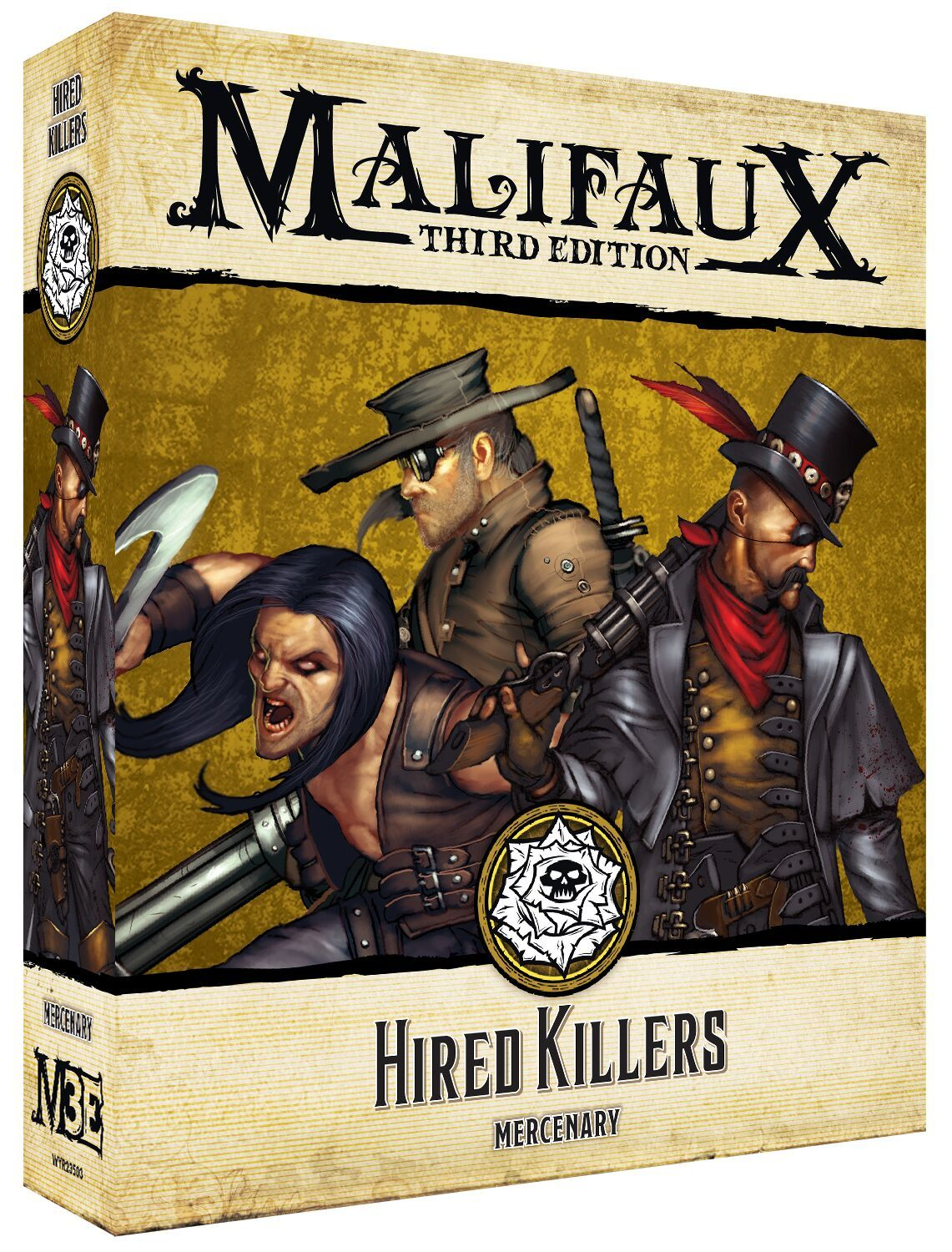Malifaux 3e-Outcasts: Hired Killers