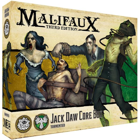 Malifaux 3e-Outcasts: Jack Daw Core Box